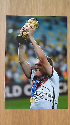 "Signed "" Matthias Ginter - Germany "" World Cup Winner 12x8 photo (PROOF & COA) 1"