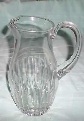 Block Co. Crystal Juice/ Water Pitcher Pretty Nice Size
