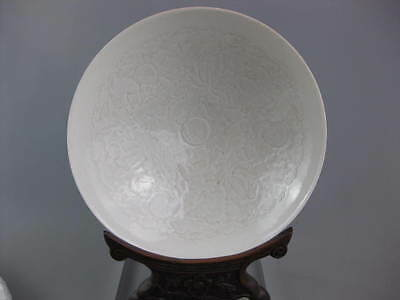 Stunning Large Chinese Qingbai Boys Bowl Song Dynasty Style  20cm 3 Boys Repro