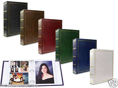 New Pioneer LM100 Magnetic Brown  Photo Album 5x7 Photos Gift For Mom or Wife