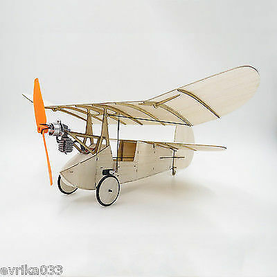 Flea Balsawood 358MM Wingspan Micro RC Airplane Newton Kit With Power System