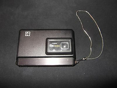 Camera Kodak Disc 6000 Made in USA EASTMAN Co Used Untested Vintage