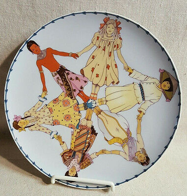 Heinrich Villeroy and Boch The International Year Of The Child Plate Final List