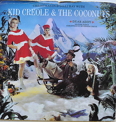 "Kid Creole & The Coconuts - Dear Addy - 1982 Island 7"" Single Ex Cond"