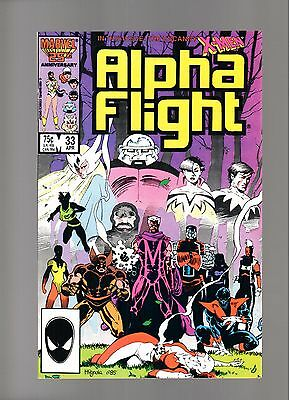 Alpha Flight # 33   ( 1985 )   1St Lady Deathstrike   Marvel Comics   Sharp Copy