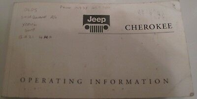 Jeep Cherokee KJ Liberty 2004 Owners Manual and Wallet
