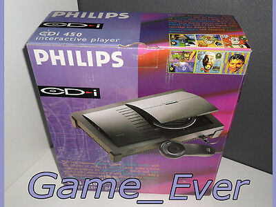 CONSOLE PHILIPS CDi 450 - NEW IN BOX - NEVER USED - NEW NEUF NIEUW