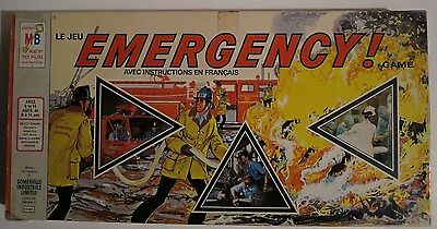 Vintage 1973 Milton Bradley The EMERGENCY TV Show Board Game - Complete