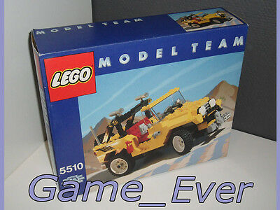 Vintage 1986 Lego 5510 Off Road 4X4 Model - Team New And Sealed - Neuf Nieuw
