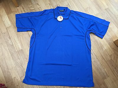 MUNSHINI Sports Polo/Sports Shirts XXL MID BLUE