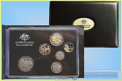 2013 Proof Set with Gilt 20 Cents.