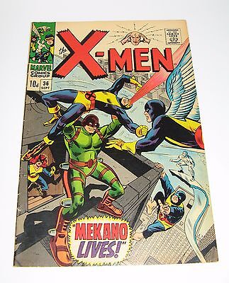X-Men #36, (1967) Highly Collectable Marvel Comic