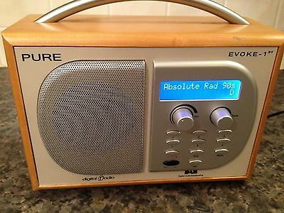 pure dab radio evoke 1xt excellent working order