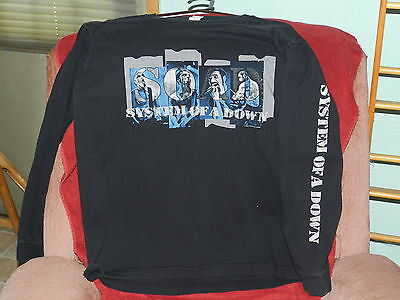 NICE '02  System of a Down long sleeve shirt (L)