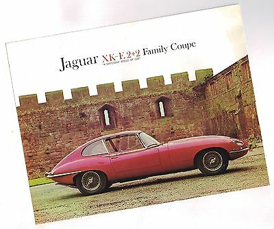 1965?1966?1967 Jaguar XK-E 2+2 Family Coupe Brochure / Spec Sheet: XKE, 4.2 L