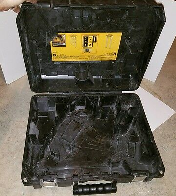dewalt hard locking case only model dcn692m1 nailer 20v cordless framing