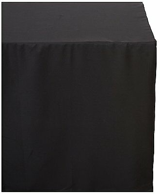 Tektrum TEKTRUM 6-Feet Long Fitted Table DJ Jacket Cover for Trade Show -