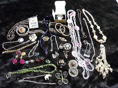 Junk Drawer Lot Costume Jewelry 2