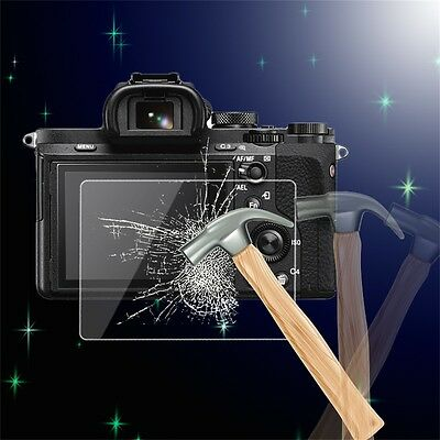Tempered Glass Camera LCD Screen Protector Cover for Sony A7/A7R/A7S DG
