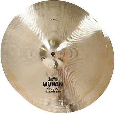 """Wuhan 13"""" hi hats NEW $115 FREE FEDEX in lower 48 states See our discount"""