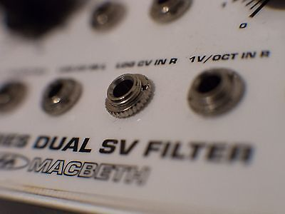 Macbeth X-Series Dual SV Filter PROTOTYPE Eurorack synth module (Doepfer compat)