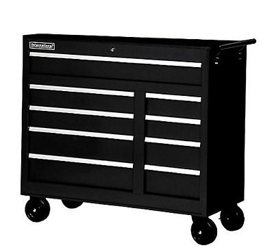 International 5 Drawer Portable Rolling Tool Chest Cabinet Garage Toolbox Steel
