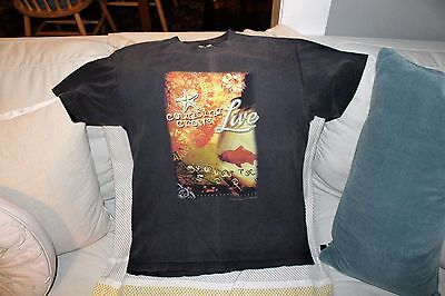 Counting Crows Live 2000 Live Summer Tour T-Shirt Size M