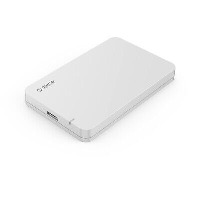 ORICO 2569S3 Portable 2.5 inch SATAIII USB3.0 External HDD Enclosure Silver..