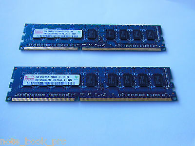 HP WORKSTATION Z400 RAM  4GB (2 x2GB)  2RX8 PC3-10600E  HYNIX HMT125U7BFR8C