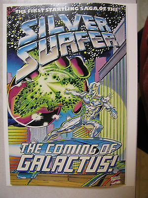 Silver Surfer The Coming of Galactus TBP Graphic Novel - 1992 - First Print -VF
