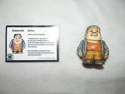 """""""Shelley""""  Pot Belly's Frankenstein Halloween Figurine Collectible-removable hea"""
