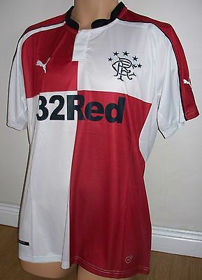 Rangers - 2016-17 - Away  Top - Small  /  X Large  - New