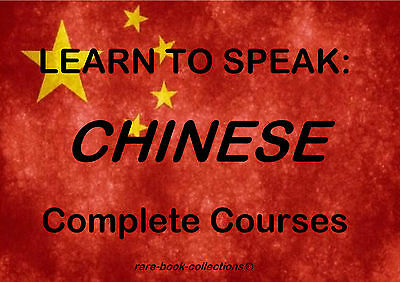 Learn To Speak Mandarin Chinese - Language Course - 99 Hrs Mp3 & 21 Books On Dvd