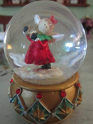 Christmas Angel Snow Globe Ornament - As new