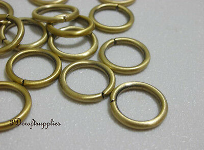 metal O rings O-ring purse ring connector anti bronze 10 mm 3/8 inch 40pcs i30