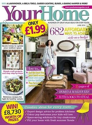Your Home Magazine June 6/2016 with Guide to a Beautiful Bedroom