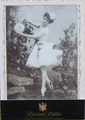 'Vintage' Russian Kirov Ballet postcards from the Mariinsky Theatre