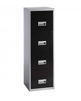 Metal Filing Cabinets Stationary Lockable Business Office A4 4 Drawer Steel Home
