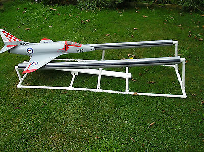 Model Aircraft Bungee Pedal Launcher Plans & Instructions