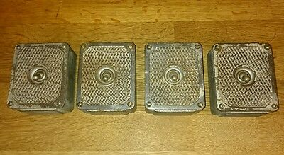 Vintage Industrial Cast Iron Light Switch