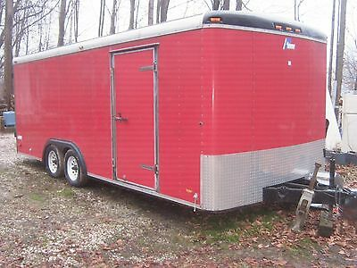 Pace Enclosed 8X20 Cargo/work Trailer