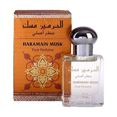 Musk Attar Perfume Oil 15ml Roll on Aldehyde Rose Musk Ittar Al Haramain
