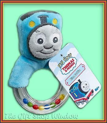 Thomas The Tank Engine Plush Loop Ring Rattle - Baby Gift Toy - From Birth - New