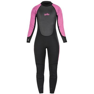Yello Basking Childs Kids Girls Long Wetsuit Childrens WetSuits Full Length