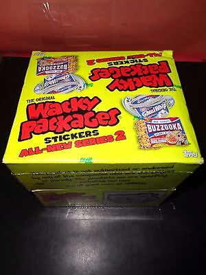 2005 Topps Wacky Packages Unopened Box SER 2 Factory Sealed 36 Packs 6 Per Pack