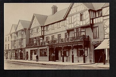 Newtown - Bear Hotel - real photographic postcard