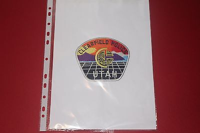 A Colourful Shoulder Patch from Clearfield Police Department Utah