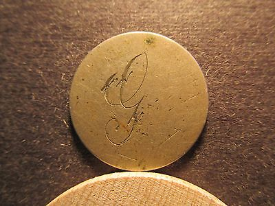 Love Token, on back of no date shield nickel, g ?