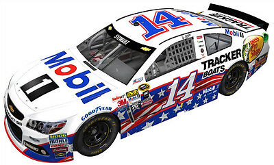 Tony Stewart Mobil 1 Salutes 1:24 Scale Diecast Car
