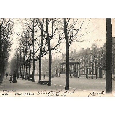 Gand - Place d'Anvers.